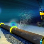 Underwater oil & gas pipelines can be monitored continuously with an optical communication network.